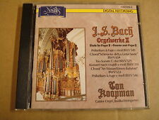 CD NOVALIS / J.S. BACH - ORGELWERKE II / WORKS FOR ORGAN II / TON KOOPMAN
