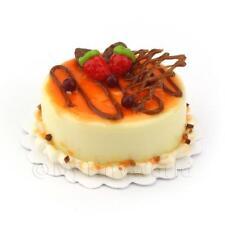 Miniatura Pallido Giallo Ghiacciati Cioccolato E Arancia Torta