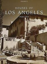 Houses of Los Angeles, 1920-1935 (Urban Domestic Architecture), , .,, ,, ?, Sam