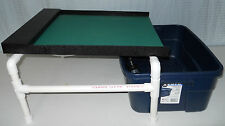 """Water Table XL Fine Flour Gold Recovery Miller Sluice Panning High Banker 18""""W"""