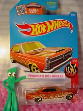 2016 Hot Wheels '66 FORD 427 FAIRLANE #95✰Kmart Exclusive ORANGE✰Flames✰Case F