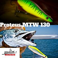 INCREDIBLE TOPWATER  SPINNING LURE MOLIX PROTEUS 130 Flying fish