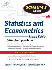 Schaum's Outline of Statistics and Econometrics, Second Edition Schaum's Outlin