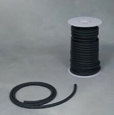"50 Feet Kent Elastomer    3/16"" I.D x 1/32"" wall  Latex Rubber Tubing Black"