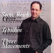 Tehillim/Three Movements for Orchestra by Steve Reich (Composer) (CD,...