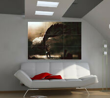 Fallen Angel large giant fantasy poster print photo mural wall art ie017