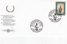 United Nations 1988 40th Anniversary of Declaration of Human Rights FDC