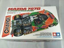 1/24 Tamiya MAZDA 787B '91 Le mans 24 Hours winner Vintage model kit