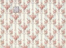 Crystina 187D23 miniature dollhouse wallpaper 1pc 1/12 scale