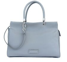 Marc by Marc Jacobs Bentley Satchel Shoulder Bag Leather Tote Light Grey New