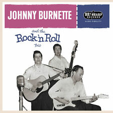 ROCKABILLY EP: JOHNNY BURNETTE TRIO CARDBOARD Be! Sharp Back Vinyl ! ALT TAKES!