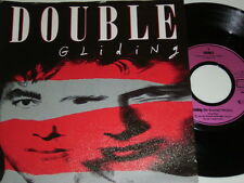 """7"""" - Double Gliding & Lakes in the desert - 1988 # 3518"""