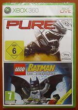 Pure + Lego Batman 1 - El Videojuego, Xbox 360 / One, Pal-España ¡¡NUEVO!!