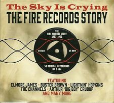 THE SKY IS CRYING THE FIRE RECORDS STORY 1957 - 1962 - 2 CD BOX SET
