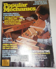 Popular Mechanics Magazine Master Woodcrafting February 1979 110714R1