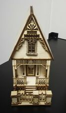 Little Ann Victorian Cottage house 1:48 (quarter scale) Dollhouse wood kit