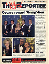 """1995 Rare Hollywood Reporter """"Forrest Gump"""" Wins Oscars Issue"""