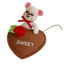 """SWEET TREATS 3"""" Valentine's Day Table or Desk Top FIGURE Annalee Valentine Gift!"""