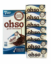 Ohso Probiotic Classic Dark Chocolate 13.5gx7bar GLUTEN&NUTS FREE No Added DAIRY