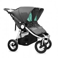 Bumbleride Indie Twin Double All Terrain Stroller Dawn Grey New In Box 2016