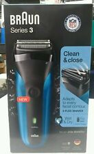 BRAUN Series 3 310S Rechargeable Wet & Dry Electric Shaver - NEW