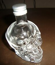 DAN AYKROYDS Crystal Head Vodka Mini 50ML Skull Bottle (EMPTY)