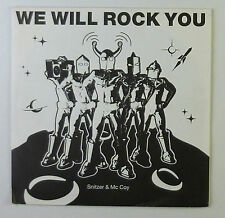 "7"" Single - Snitzer & McCoy - We Will Rock You - S738 - washed & cleaned"