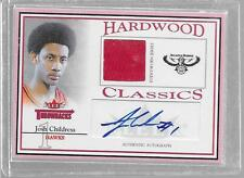 2004-05 Throwbacks - JOH CHILDRESS - Autograph Game Jersey Rookie - HAWKS #d/249