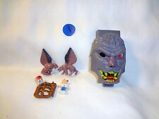 Mighty Max Horror Heads Werewolf 100% Complete Set Playset Bluebird Toys