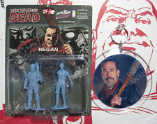 Walking Dead Exclusive Blue Negan Mini figure & Charm Keepsake Ornament Custom