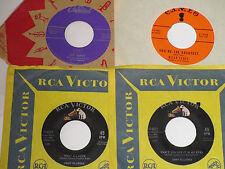 vintage  teen rock    1957-63      lot of 4      vg+  c153