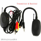 2.4G Wireless Color Video Transmitter & Receiver For Car Rearview/Front Camera