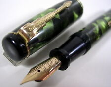 STYLO EDACOTO ANCIEN DE COLLECTION PLUME OR 18 K VERS 1940/50