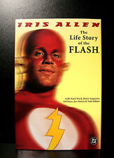 COMICS: DC: THE LIFE STORY OF THE FLASH hardcover (1990s) - RARE (figure/tv)