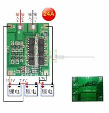 3S 24A Li-ion Lithium Battery 18650 Charger batteries Protection Board max 36a
