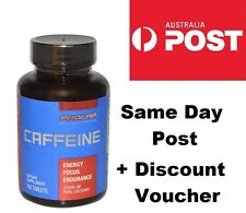 PROLAB NUTRITION CAFFEINE 200mg 100 Tablets Fat Burner Pre Workout Weight Loss