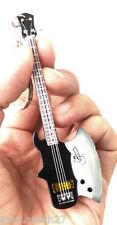 """Gene Simmons KISS Axe Bass  4"""" Miniature Guitar Fridge Magnet &  Keychain"""