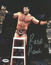 Scott Hall Razor Ramon Signed 8x10 Photo PSA/DNA COA WWE Wrestlemania X Picture
