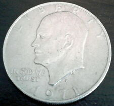 DWIGHT D. EISENHOWER 1971 SILVER DOLLAR COIN RARE 34th President of the U.S.A.