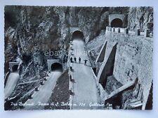 PASSO S. BOLDO gallerie dolomiti Belluno vecchia cartolina