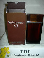 M 7 by Yves Saint Laurent Eau de Toilette EDT Men Spray 3.3 fl. oz RARE