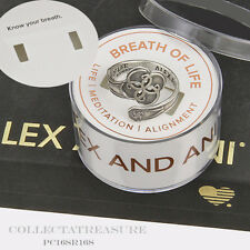 Authentic Alex and Ani Breath Of Life Sterling Silver SPOON RING