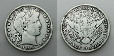 ESTADOS UNIDOS USA BARBER 1906 HALF DOLLAR 50 CENTS MONEDA PLATA MBC-