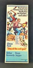 Original 1968 DAY OF THE EVIL GUN Movie Poster 14 x 36 GLENN FORD / WESTERN