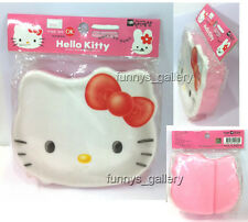 Hello Kitty Die cut Head Bento Lunch Box Container Case