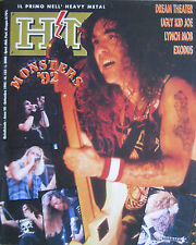 HM 132 1992 Exodus Lynch Mob Dream Theater Ugly Kid Joe Nymphs Megadeth Pantera