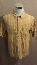 COLUMBIA Man's Short Sleeve Shirt Size: M VERY GOOD Condition