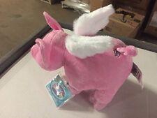 Webkinz Flutter Pig HM789 Plush Animal With Secret Code For Website Ganz Flying