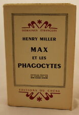 Henry Miller Max and the White Phagocytes 1947 In French Tropic of Cancer