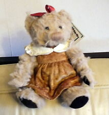 Greta by Russ an original teddy bear created by artist Carol Lynn Russel Waugh